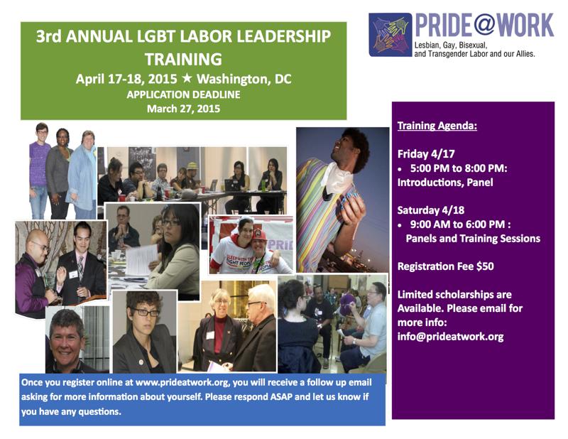 LGBT Labor Leadership Training